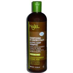 Sampon cu sapun de Alep pentru par normal, 500 ml, Najel - Sabedoria Wisdom, Soaps, Aleppo Soap, Hair