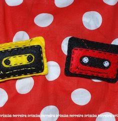 cassette pin plushie on artemix