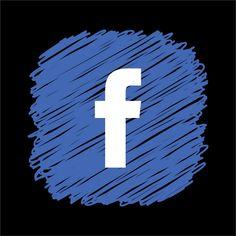 Facebook Logo Vector, Facebook Logo Transparent, Editing Background, Picsart Background, Black Background Images, Geometric Background, Simbolos Do Facebook, Pag Web, Network Icon