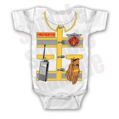 FUNNY SAYINGS SHIRT FIREFIGHTER FIRE MAN FIGHTER YOUTH KID TODDLER INFANT BABY  $8.99