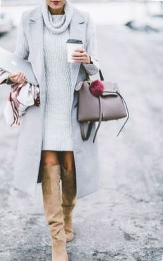 Adorable and beautiful winter outfits for work 2017 21 72dpi