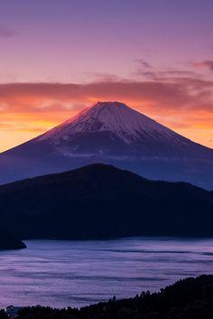 Sunset-Mt.Fuji