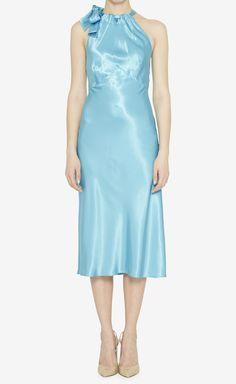 Fendi Jeans Ice Blue Dress   VAUNTE