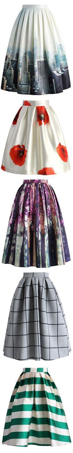 print midi skirt, christmas party skirt, thanks giving skirt, xmas skirt