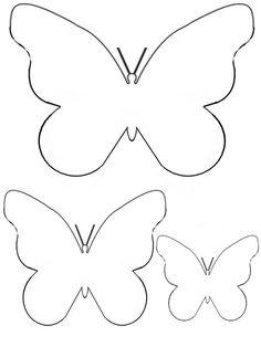 Cartamodello Farfalla Da Stampare Disegni Farfalle Modello Di