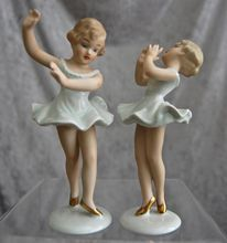 "Wallendorf Porcelain ""Little Ballerina"" Figurines"