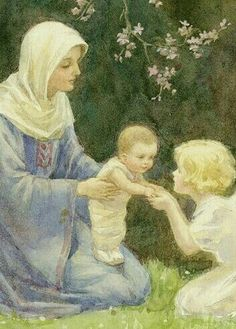 Search for margaret tarrant religious - YOONIQ Images - Stock photos, Illustrations & Video footage Mama Mary, Mary I, Mary And Jesus, Holy Mary, Blessed Mother Mary, Blessed Virgin Mary, Catholic Art, Religious Art, Vintage Holy Cards