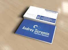 Cartão de Visita Andrey Scramin