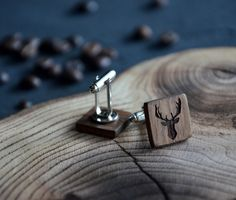 Our dear customers.  We are ready to show you our new product - wooden cufflinks. We are sure that this is a great gift. Don`t forget that you can personalize it as any other thing in our...