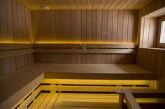 VEDENPITÄVÄ 5050 LÄMMIN VALKOINEN - Saunainter.fi Saunas, Stairs, Places, House, Home Decor, Stairway, Decoration Home, Home, Room Decor