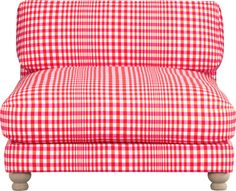 piazza gingham chair in chairs | CB2. fun.