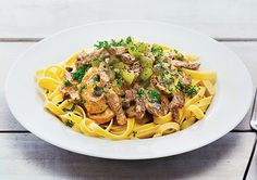 Free smoky beef and mushroom stroganoff recipe. Try this free, quick and easy smoky beef and mushroom stroganoff recipe from countdown.co.nz.