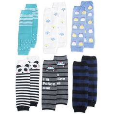 TopTie Baby Leg Warmer, Set for Toddler Boys, 6 Pairs Assorted Designs With leg warmers, toddler baby's knees can be protected when crawling. These leg warmers are Read more http://shopkids.ca/toptie-baby-leg-warmer-set-for-toddler-boys-6-pairs-assorted-designs/