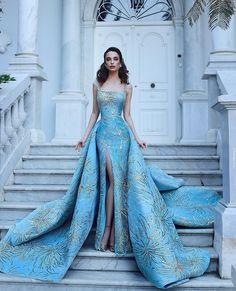 gorgeous long blue prom dress,luxury evening dress,wedding dress Source by rachesal dresses simple Prom Dresses Blue, Ball Dresses, Ball Gowns, Formal Dresses, Blue Skirts, Blue Dress Outfits, Dress Prom, Women's Dresses, Dresses Online