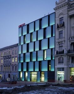 Omega Palace Department Store, Kuba & Pilar Architekti | Brno | Czech Republic | MIMOA Central Hall, High Windows, Light Architecture, Clear Glass, Omega, Multi Story Building, Office Buildings, Modern, Czech Republic