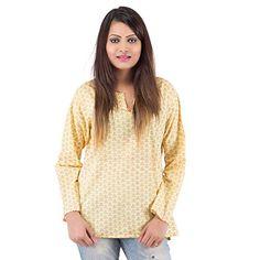 Damyantii Cotton Yellow Kurti For Women in Size 42 Damyantii http://www.amazon.in/dp/B00TU023AQ/ref=cm_sw_r_pi_dp_nLY-ub16Y355M