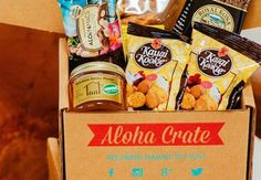 Aloha Crate Crates, Subscription Boxes, Beverages, Shipping Crates, Drawers, Barrel