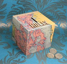 Hey, I found this really awesome Etsy listing at https://www.etsy.com/uk/listing/280096908/canada-greenland-map-money-box-adventure