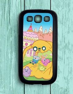 Adventure Time Finn And Jake Samsung Galaxy S3 Case