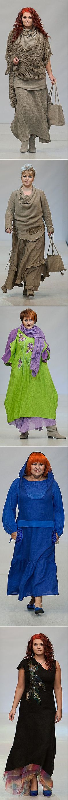 Одежда в бохо стиле от белорусского дизайнера Натальи Гайдаржи.