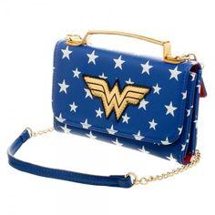 DC Comics Wonder Woman Inside Out Crossbody Wallet Clutch – The Pink Controller