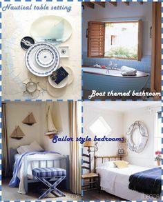 Home Decorista: Seaside feeling with nautical home decorations