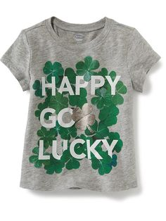 St. Patricks Day Graphic Tee for Baby