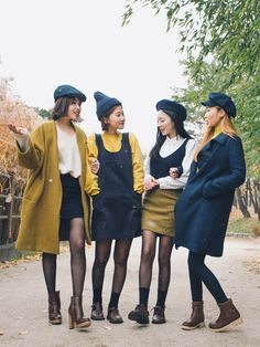 nice The 'Similar Look': Twinning with your girlfriends without actually looking like twins by http://www.globalfashionista.xyz/k-fashion/trend-the-similar-look-twinning-with-your-girlfriends-without-actually-looking-like-twins/