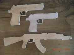 Wooden Toy Gun unique Maybe for Christmas?
