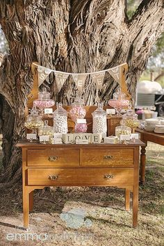 Most adorable sweet table Wedding Candy, Wedding Favours, Boho Wedding, Wedding Table, Wedding Blog, Rustic Wedding, Lolly Buffet Wedding, Wedding Hire, Wedding Ideas