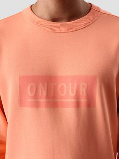 Ontour Window Sweater Orange Salmon O170152002