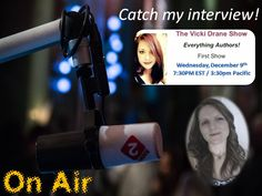 My first radio interview. Click on this link and listen in live on Dec. 9th at 7:30pm EST/3:30pm Pacific.   http://www.artistfirst.com/drane.htm  Click the link for the MP3 live signal!