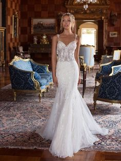 Sexy Mermaid Wedding Dresses with Bussuls