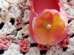 DIY // baby ballet shoes