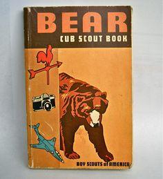 Vintage 1960's Bear Cub Scout Book