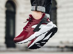 http://SneakersCartel.com Nike Air Huarache 'Team Red' #sneakers #shoes #kicks #jordan #lebron #nba #nike #adidas #reebok #airjordan #sneakerhead #fashion #sneakerscartel