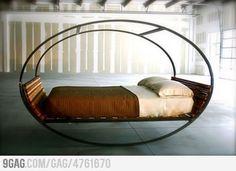 It's a Rocking Bed!