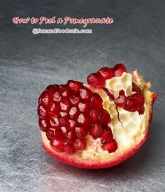 How to Cut a Pomegranate – Mess Free Technique