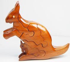 PUZZLE wooden Kangaroo