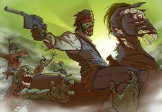 Red dead redemption undead nightmare Creepy Horror, Horror Art, Red Dead Redemption 1, John Marston, Rdr 2, Dead Zombie, Rockstar Games, Red Dog, Western Art