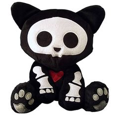 Skelanimals Kit (Cat) Deluxe 8-Inch Plush