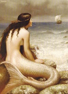 Beautiful mermaids pictures - Hot sexy mermaid pictures posts beautiful mermaid art from many different mermaid artists. Sirens, Mythical Creatures, Sea Creatures, Edward Burne Jones, Mermaid Pictures, Mermaid Images, Water Nymphs, Mermaids And Mermen, Fantasy Mermaids
