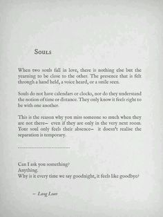 I've never heard of Lang Leav until today, but some of her work describes us so well <3