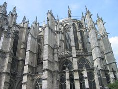 The Cathedral of Saint Peter of Beauvais (French: Cathédrale Saint-Pierre de Beauvais) is an incomplete Roman Catholic cathedral located in Beauvais, in northern France (Family Roots)