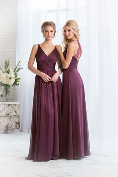 Amazing new autumn bridesmaid dresses from Jasmine Bridal. Love this color!