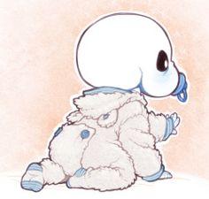 Baby bones Sans ( OMG SO CUTE I'M DYING OF HIS CUTENESS )