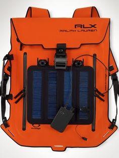 1700c72aeb89 RALPH LAUREN Solar Panel Backpack Waterproof Backpack