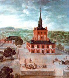 La Torre de la Parada, en el Monte del Pardo, que fue realizada en época de Felipe IV y estaba decorada por cuadros de Velázquez, Rubens y demás artistas de primer nivel.