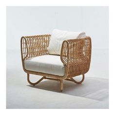 Lovely Rattan Furniture for Your Home. Rattan-based furniture is widely used in Asia, because rattan raw materials can easily be found there. Rattan furniture can give an antique or mode. Cane Furniture, Bamboo Furniture, Furniture Decor, Modern Furniture, Furniture Design, Outdoor Furniture, Furniture Hardware, Rattan Armchair, Furniture Collection