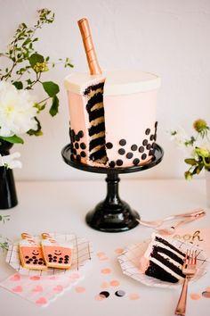 Crazy Cakes, Bubble Tea, Yummy Treats, Sweet Treats, Yummy Food, Boba Bar, Lamb Sliders, Tea Party Theme, Bon Ap